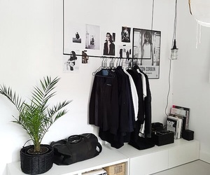 bedroom and clothes image