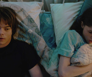 stranger things, charlie heaton, and jonathan byers image