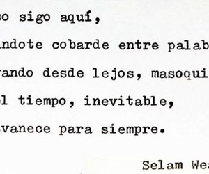 frases, frases de amor, and inevitable image