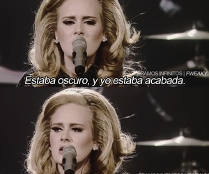 Adele, frases, and love image