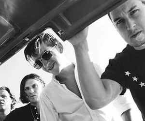 alex turner, arctic monkeys, and bad guys image