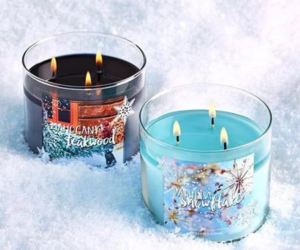 candle, winter, and christmas image