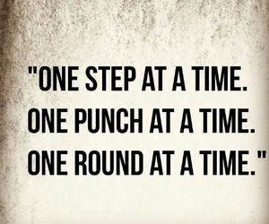 boxing and quote image