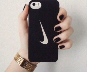 aesthetic, apple, and black image