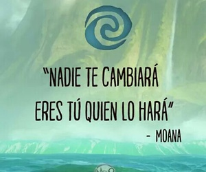 disney, frases, and moana image