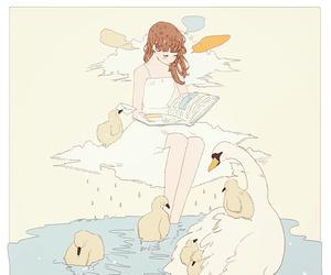 anime, girl, and tofuvi image
