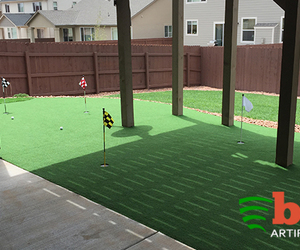 fake grass, synthetic grass, and artificial grass image