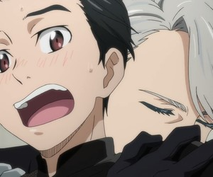 anime, boyxboy, and yuri on ice image