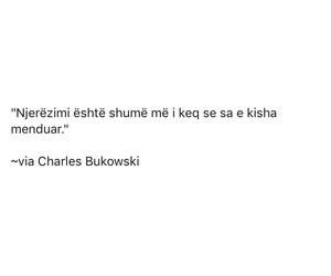 charles bukowski, njerez, and shqip image