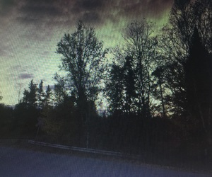 landscape, road, and silence image