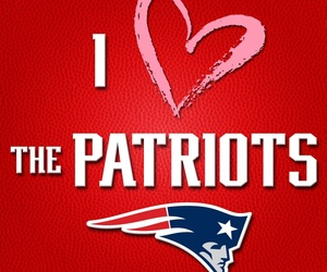 football, patriots, and newengland image
