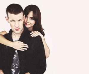 matt smith, doctor who, and jenna coleman image
