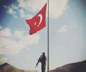 turkiye, turk, and türk bayrağı image