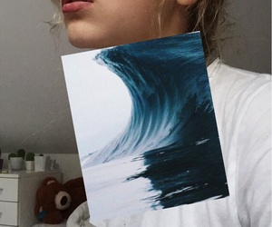 art, blue, and copy image