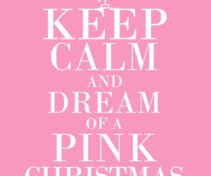christmas, pink, and aesthetic image