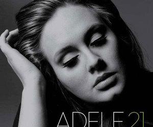 21, Adele, and b&w image