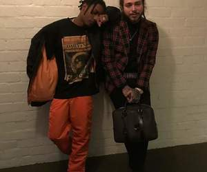post malone, rapper, and asap rocky image