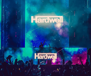 hardwell, music, and edm image