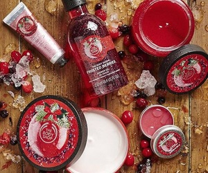 christmas, winter, and the body shop image