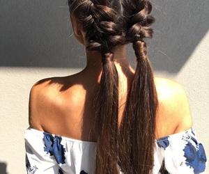 braids, fun, and girl image