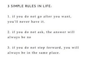 life, live, and rules image
