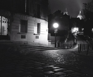 beautiful, montmatre, and by night image