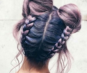 fashion inspiration, summer cosmetics, and hair hairstyle ombre image