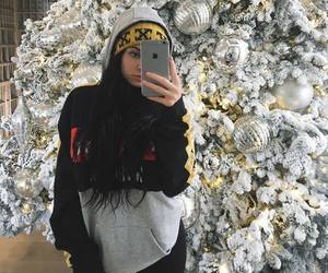 christmas, star, and kylie jenner image