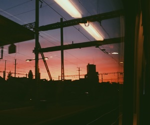 evening, photography, and sunset image