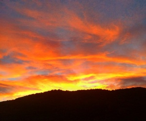 sunset, onfire, and sunsetlovers image