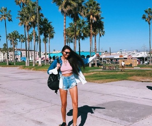 girl, outfit, and places image