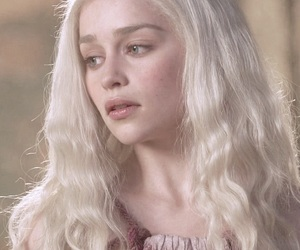 game of thrones, hair, and blonde image