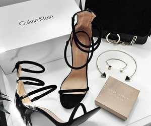 shoes, heels, and Calvin Klein image