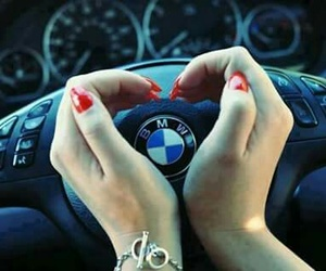 bmw, nails, and car image