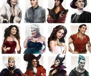 disney, gaston, and hades image