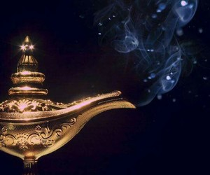 lamp and genie image