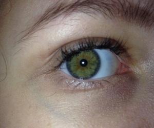eye, verde, and flash image