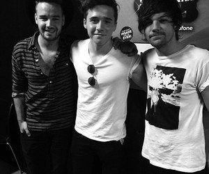 liam payne, one direction, and louis tolminson image