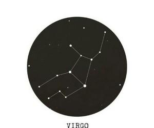 black, virgo, and wallpaper image