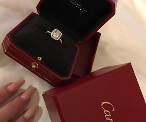 ring, cartier, and beautiful image
