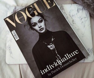 vogue, gigi hadid, and magazine image