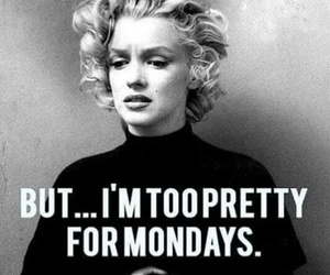 monday and pretty image