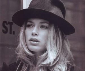 model, Doutzen Kroes, and hat image