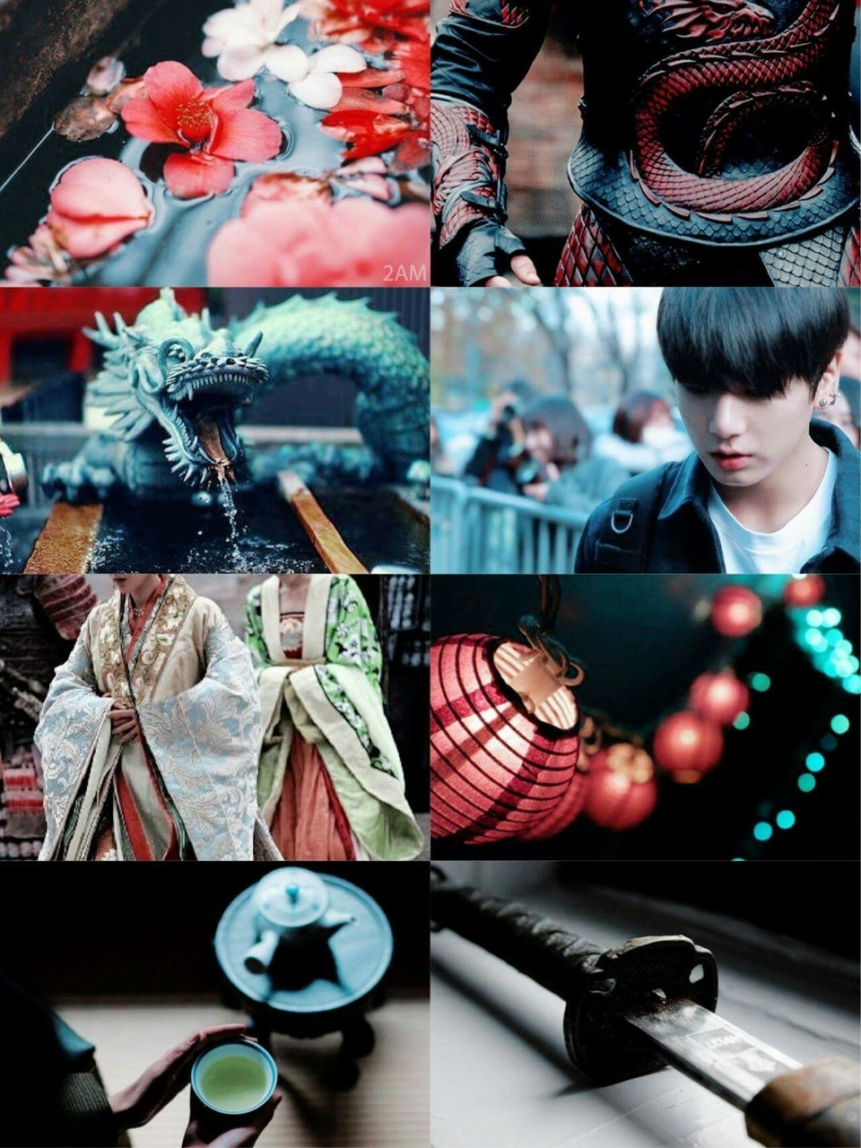 aesthetics, jin, and v image