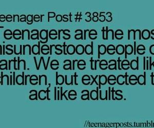 teenager, Adult, and teenager post image