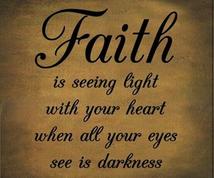 faith, quotes, and heart image