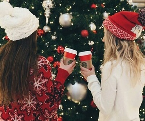 friend, xmas, and friendship image