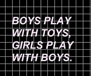 boy, girl, and toys image