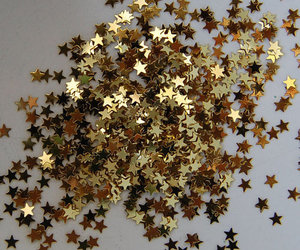 stars, gold, and glitter image