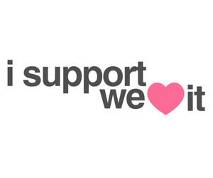 heart, support, and we heart it image